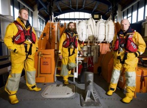 Tenby lifeboat crew