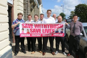 Standing together: The Herald supports saving services at Withybush