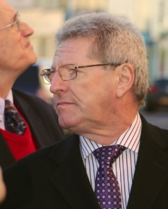 """Cllr David Simpson: """"the straightest and best man on the whole Council"""", said Cllr Peter Morgan"""