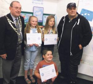 Prize Giving: Milford Haven Museum hosted an evening to congratulate competition winners.