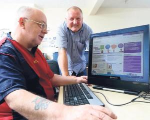 Get online: Residents living in Pembrokeshire are being encouraged to sign up for a series of free workshops