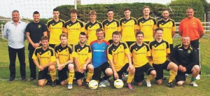 Thriller: Herbrandston entertained Goodwick in an entertaining match