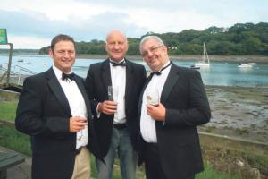 Good times had by all: Pic courtesy of the Lawrenny Yacht Club's Facebook page.