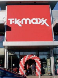 Launch day success: TK Maxx in Haverfordwest