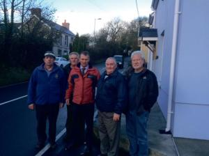 Simon Hart MP: With members of the local community council