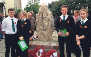 Remembering the fallen: Aled Cochran, Amy Leahy, Isaac Davis, Louise Truss