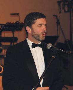 Showing support: Stephen Crabb thanks charity boss