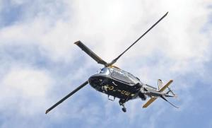 Improvements: Dyfed-Powys police helicopter service
