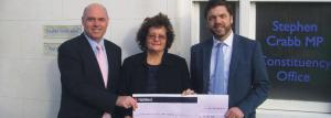 Donation of £1,115: To Crossroads Care Mid and West Wales.