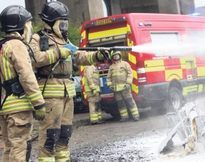 In training: People with learning difficulties are learning to understand the risks of fire