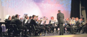 Goodwick Brass Band: Directed by guest conductor Paul Jenkins.