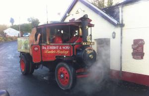Something different: A steam engine rally stopped many people in their tracks!