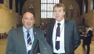 Meeting the minister: Dennis O'Connor & Graham Warlow