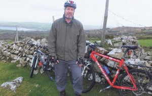 1000km journey in aid of three charities