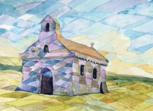 Barbara Price: her interpretation of St Non's Chapel