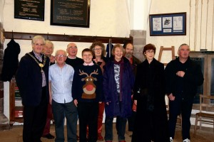 Happy New Year: The St. Davids Cathedral Bell Ringers.