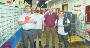 Royal Mail: Working hard and delivering mail