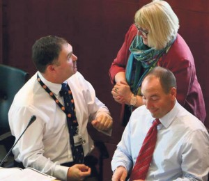 """Consultation: Cllrs Adams, George and Perkins welcome """"a small step."""""""