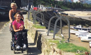 Disabled friendly: Don't let access be an issue says Park.