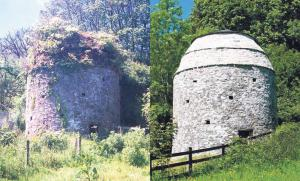 Dovecote: Before and after