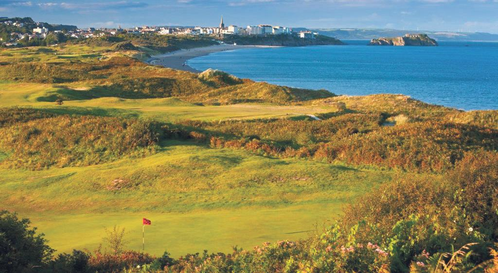 Tenby: Widely regarded as the birthplace of golf in Wales