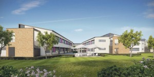 Above: An artist's impressions of the new school