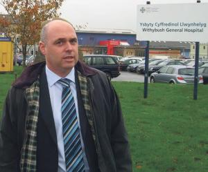 Paul Davies AM: 'Ambulances are simply not available to transport patients'