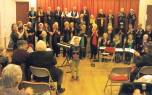 Christmas Cheer: Festive performance at the Memorial Hall, Letterston