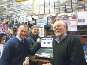 Simon Hart MP is pictured in Dales Record Shop in Tenby