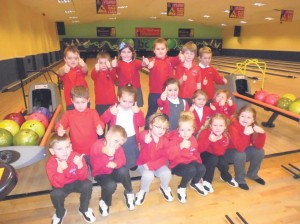 Thumbs up: Class 1 pictured at the Phoenix Bowl, Milford Haven