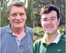 Concerned: Cllrs Mike Stoddart and Jacob Williams