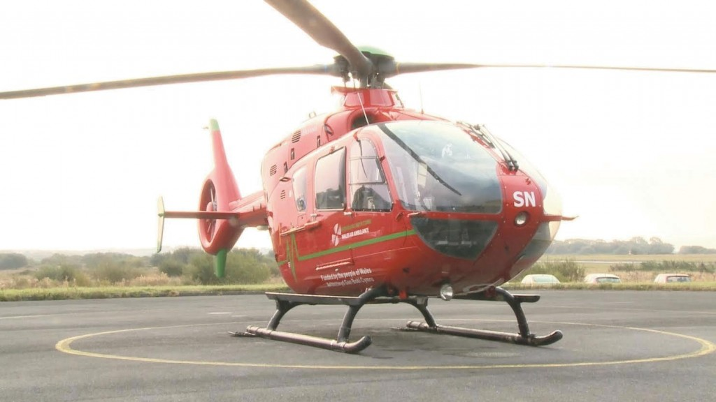 Air Ambulance: Attended the incident in Neyland