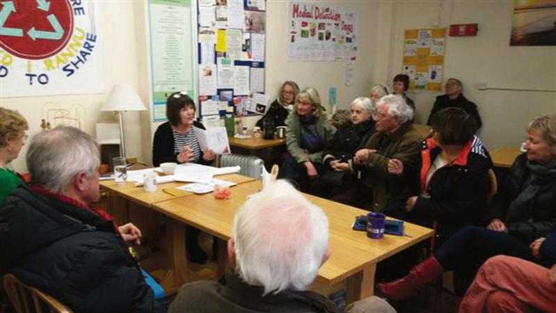 Fishguard meeting: Packed with 'knowledgeable people'