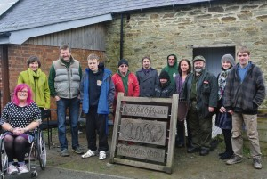 Celebrating Inclusive West Wales: At Clynfyw Care Farm.