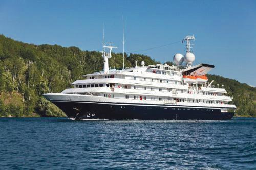 The cruise ship Corinthian, which will be visiting Fishguard later this year. Picture: PRNews/ Grand Circle Line