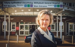 Delyth Evans: Wants a more community-based NHS