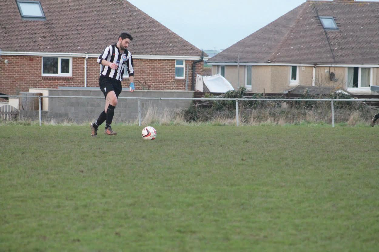Only goal: Nathan Warlow grabbed the winning goal .