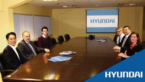 Hyundai: Inseok Jeong, Roland Llewellin, David Klass, Paul Williams, Adrian Griffiths and Lisa Llewellin.