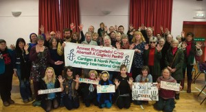 Newport Memorial Hall: Around 50 people attended to support Shaker Aamer.