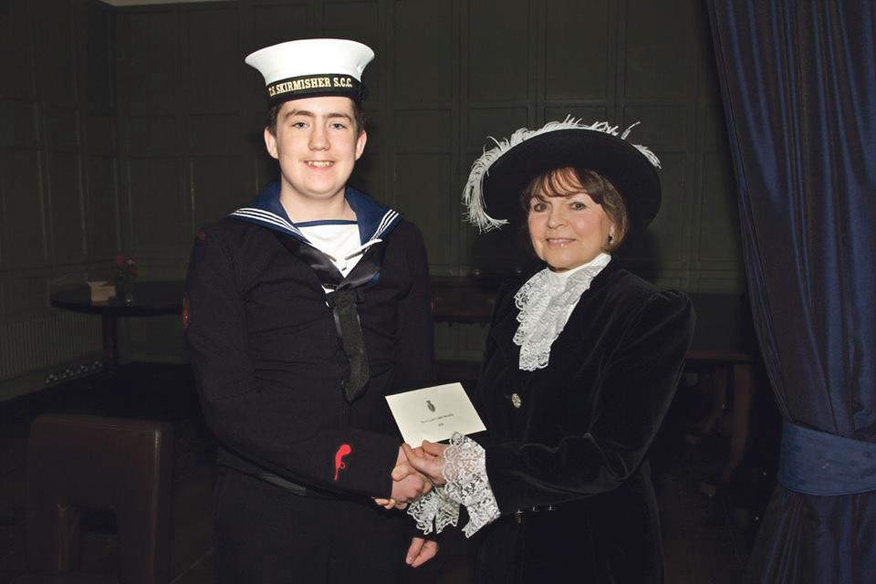 Award winner: Liam Murphy acknowledged for his fight against adversity.