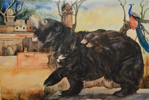 Jackie Morris' 'Something about a Bear': Published by Francis Lincoln in October 2014