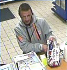 Do you recognise this man?: Contact Milford Haven Police Station on 101. ​