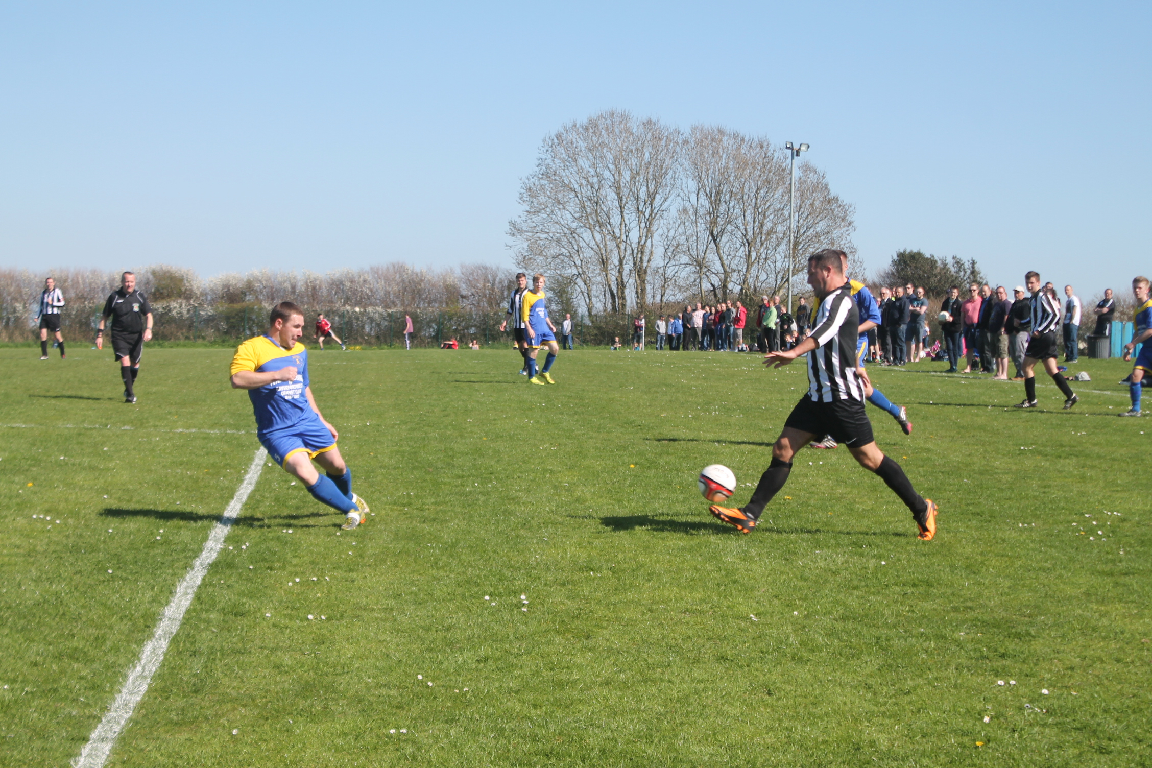 Playmaker: Wayne Parry scored one and set up another two goals