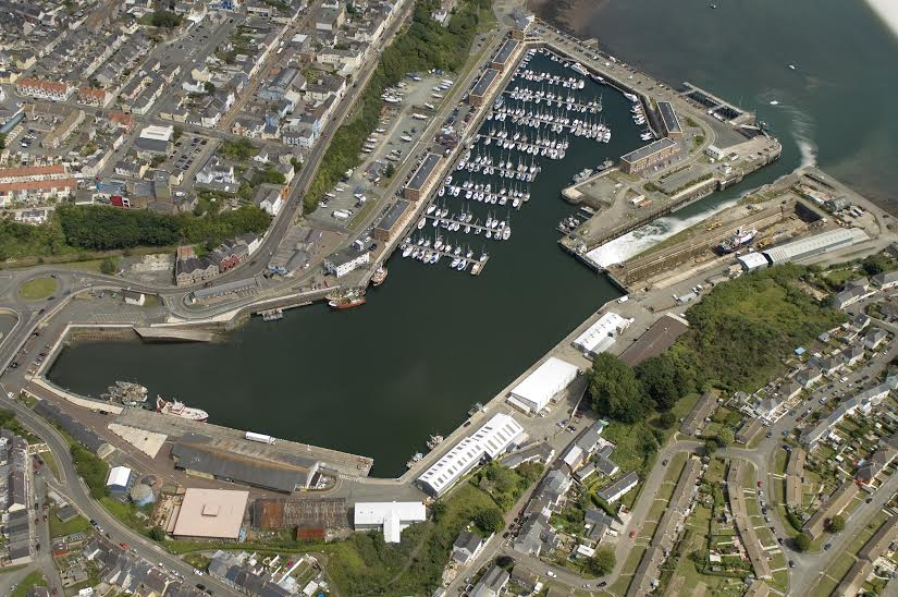 Ambitious plans: Milford Docks
