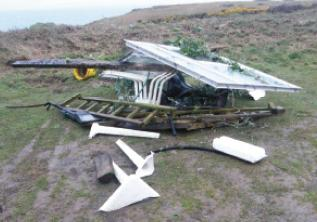 Hazardous waste: Fly-tippers dump waste at National Park beauty spots.