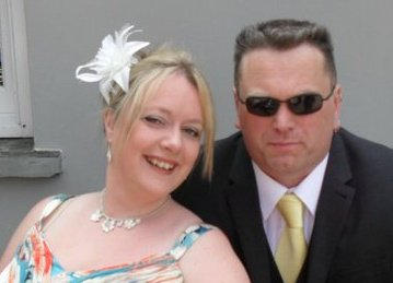 Jailed: 'Jimmy Blond' and his partner Siobhan Jackson