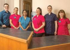 Narberth Dental Health Practice: Staff are happy to receive their nomination