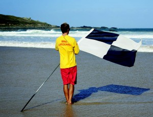 RNLI Lifeguards: 'Stay in the swimming zones