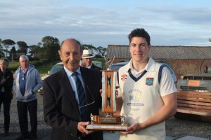 Man of the Match: Whitland's Jonathan Thomas was named Man of the Match