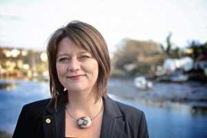 Leanne Wood: Vowing to speak to 'as many people in Wales as possible' during the year